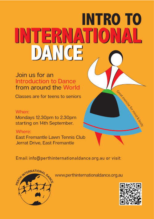 Intro to International Dance Freo